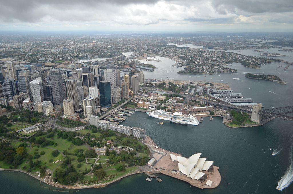 helicopter flight1 Helicopter flight over Sydney