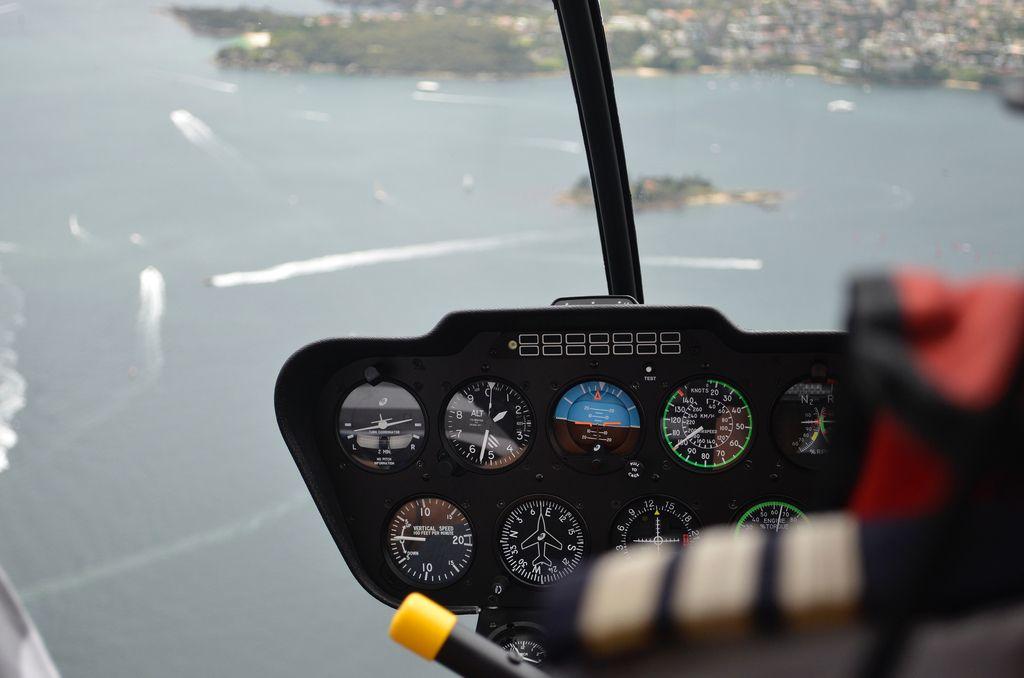 helicopter flight11 Helicopter flight over Sydney