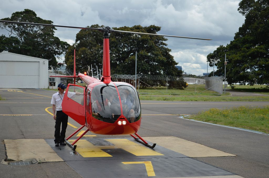 helicopter flight12 Helicopter flight over Sydney