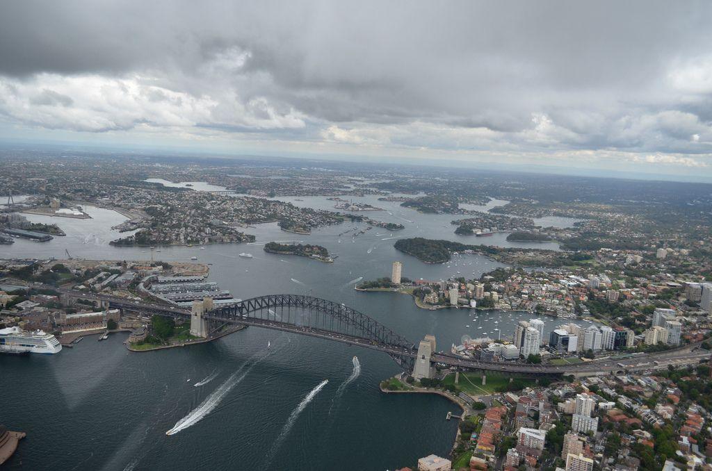 helicopter flight2 Helicopter flight over Sydney