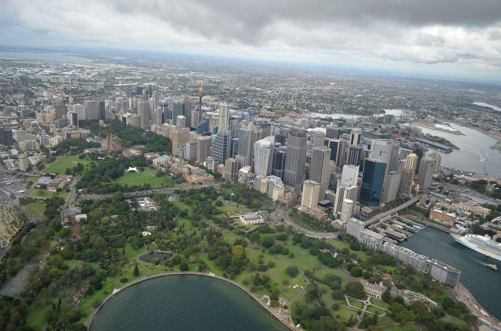 helicopter flight4 Helicopter flight over Sydney