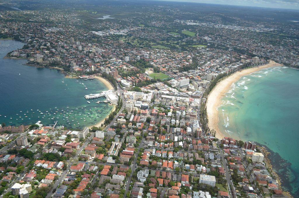 helicopter flight7 Helicopter flight over Sydney