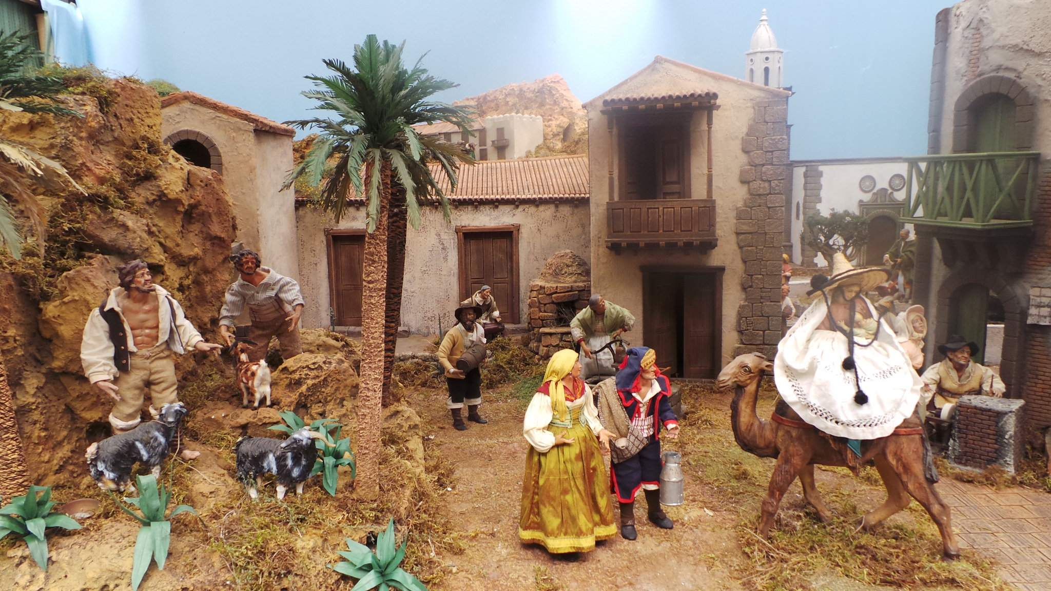nativity scene4 Traditional Bethlehem in Las Palmas, the Gran Canaria