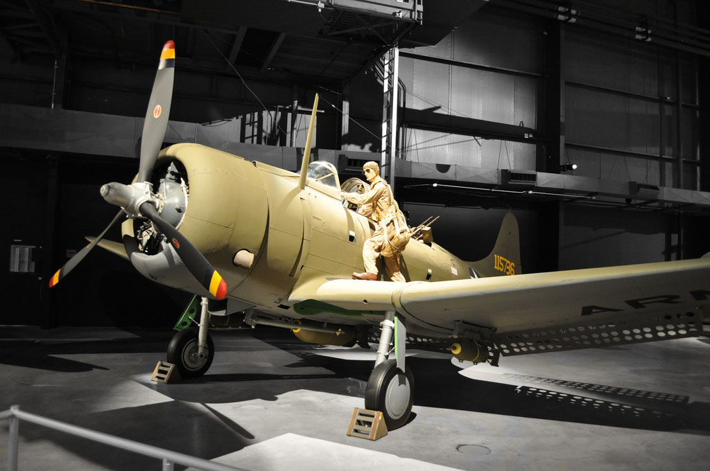 united states air force museum World War II Gallery   Exhibit in WPAFB
