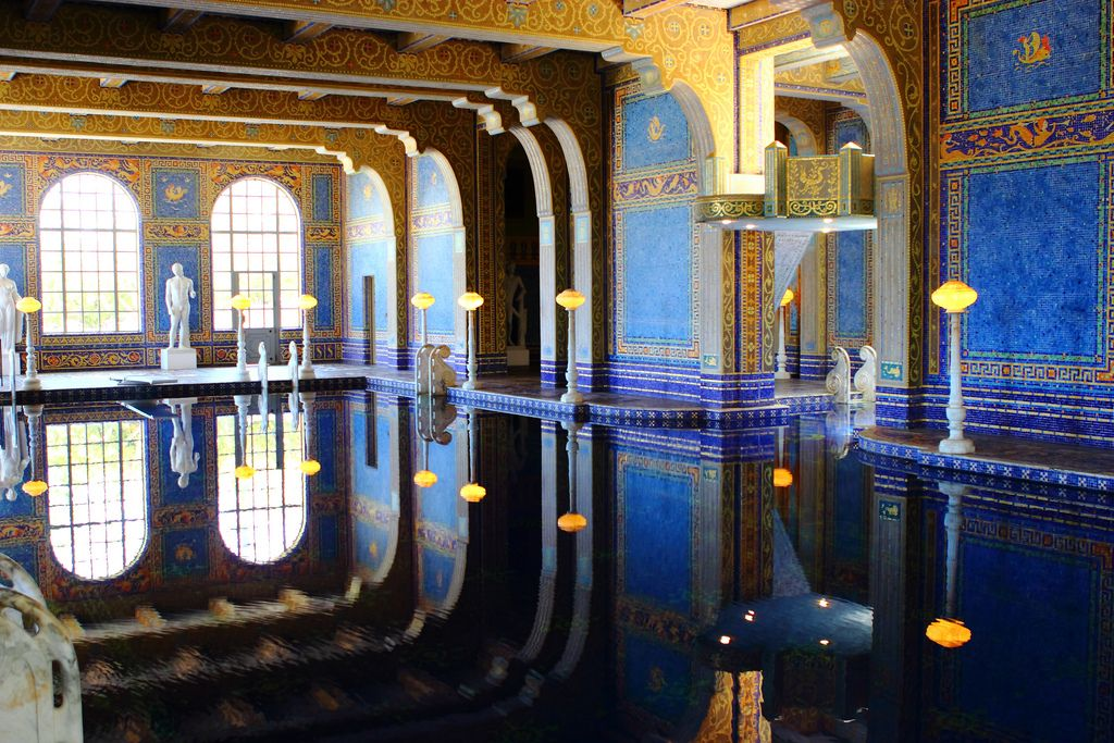 hearst castle Absolutely Breathtaking Pools in Hearst Castle