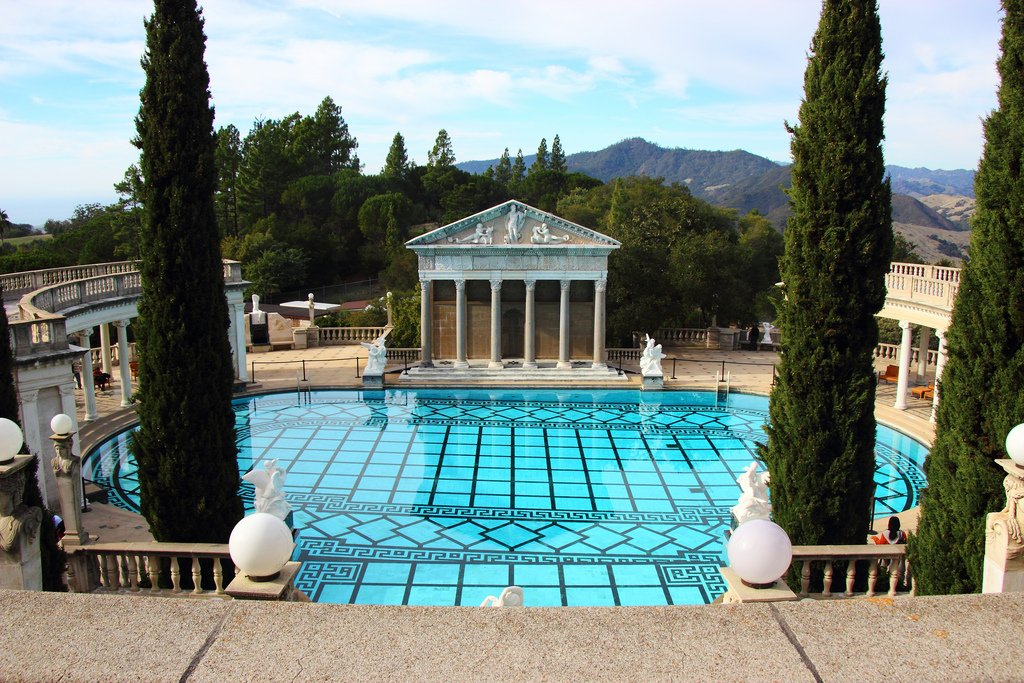 hearst castle10 Absolutely Breathtaking Pools in Hearst Castle