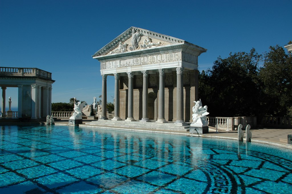 hearst castle12 Absolutely Breathtaking Pools in Hearst Castle