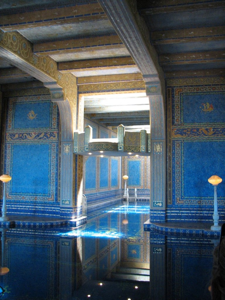 hearst castle3 Absolutely Breathtaking Pools in Hearst Castle