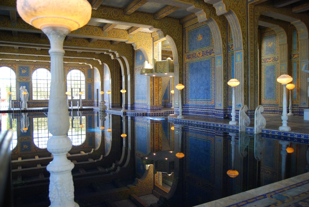 hearst castle5 Absolutely Breathtaking Pools in Hearst Castle