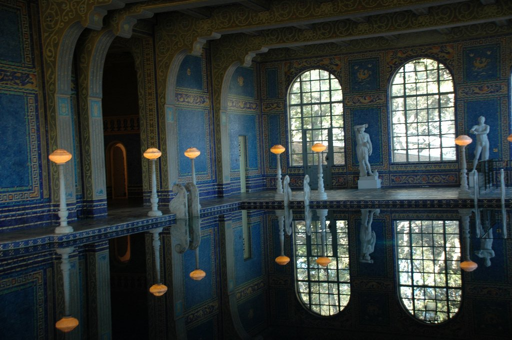 hearst castle7 Absolutely Breathtaking Pools in Hearst Castle