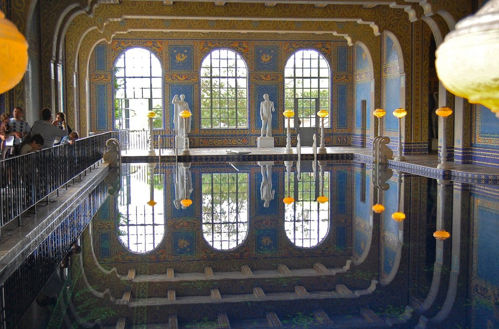 hearst castle8 Absolutely Breathtaking Pools in Hearst Castle