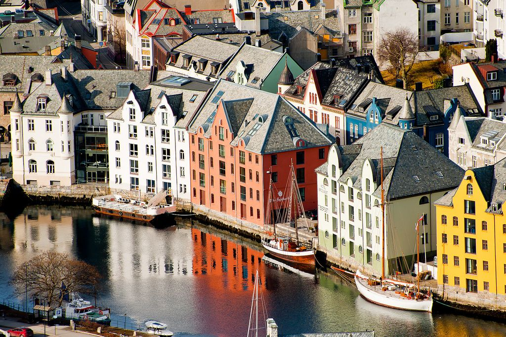 alesund7 Alesund   The Most Beautiful City in Norway