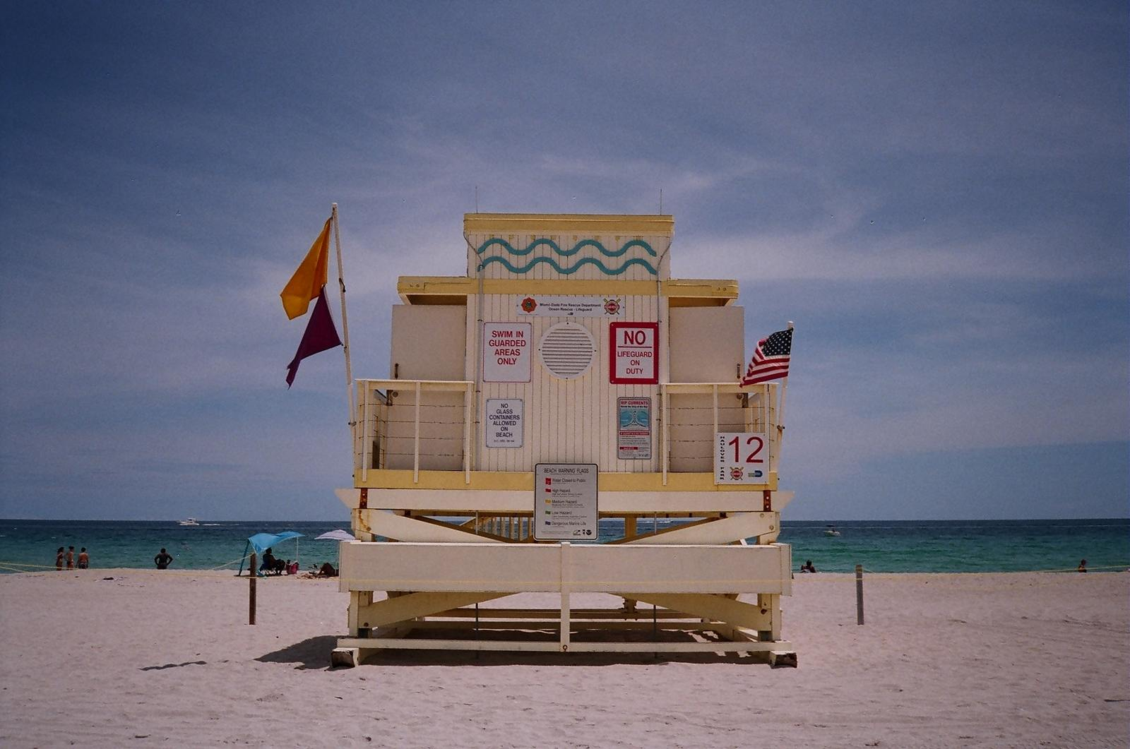 lifeguard station miami13 Art Deco Lifeguard Stations of Miami Beach