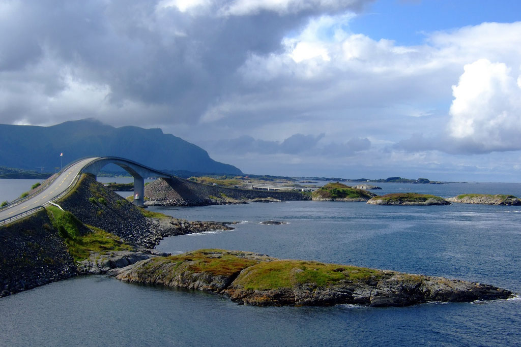 atlantic road2 Atlanterhavsveien   Best Road Trip in Norway