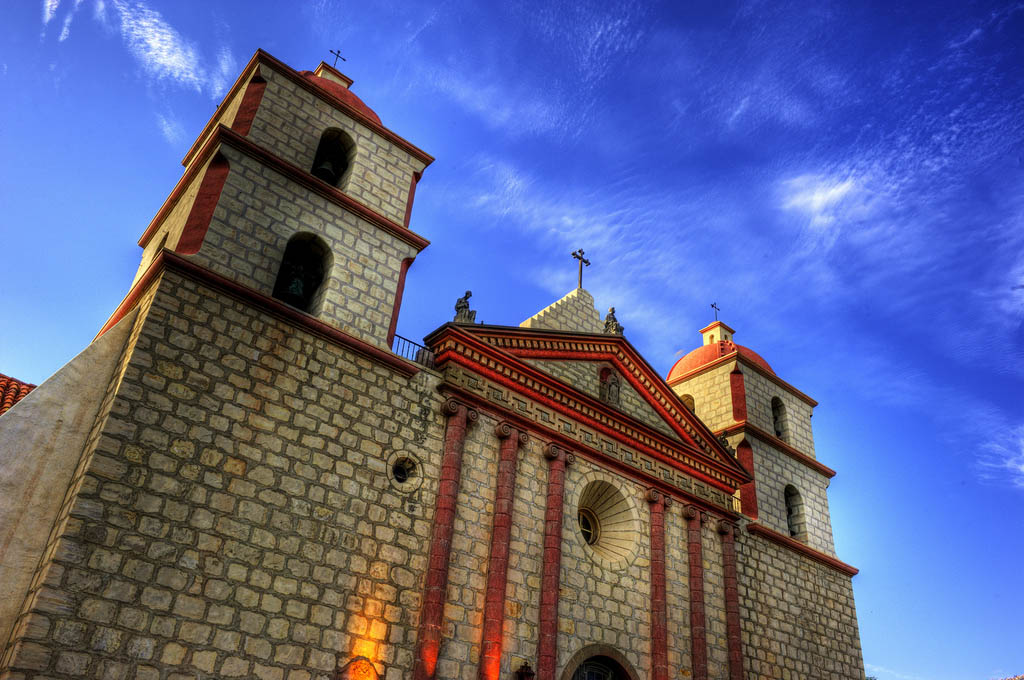 mission santa barbara Best HDR Pictures of Mission Santa Barbara
