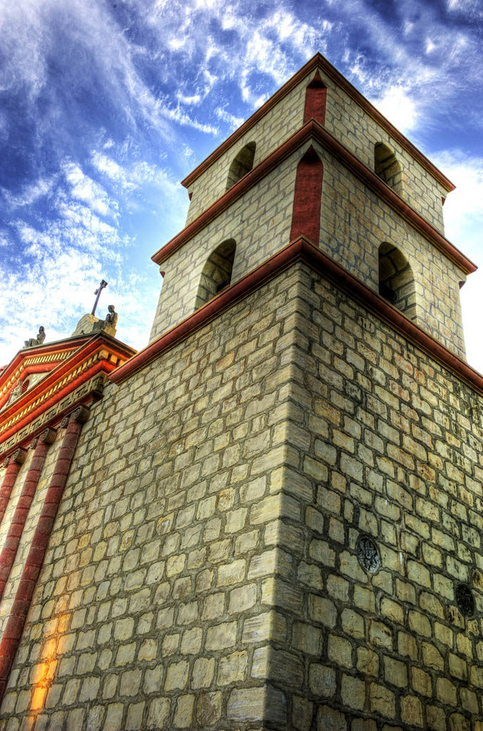 mission santa barbara2 Best HDR Pictures of Mission Santa Barbara