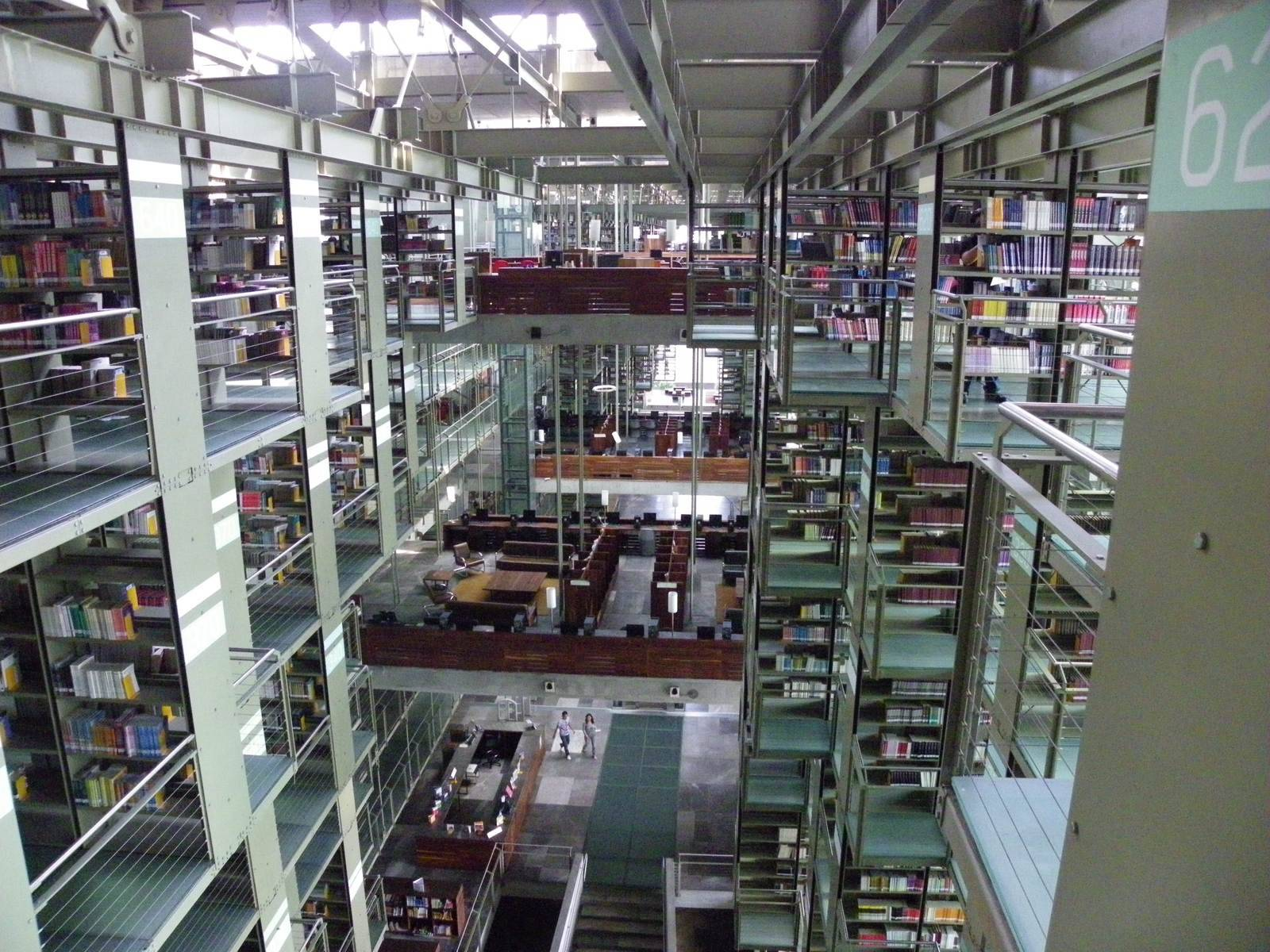 biblioteca vasconcelos Biblioteca Vasconcelos   Public Library in Mexico City