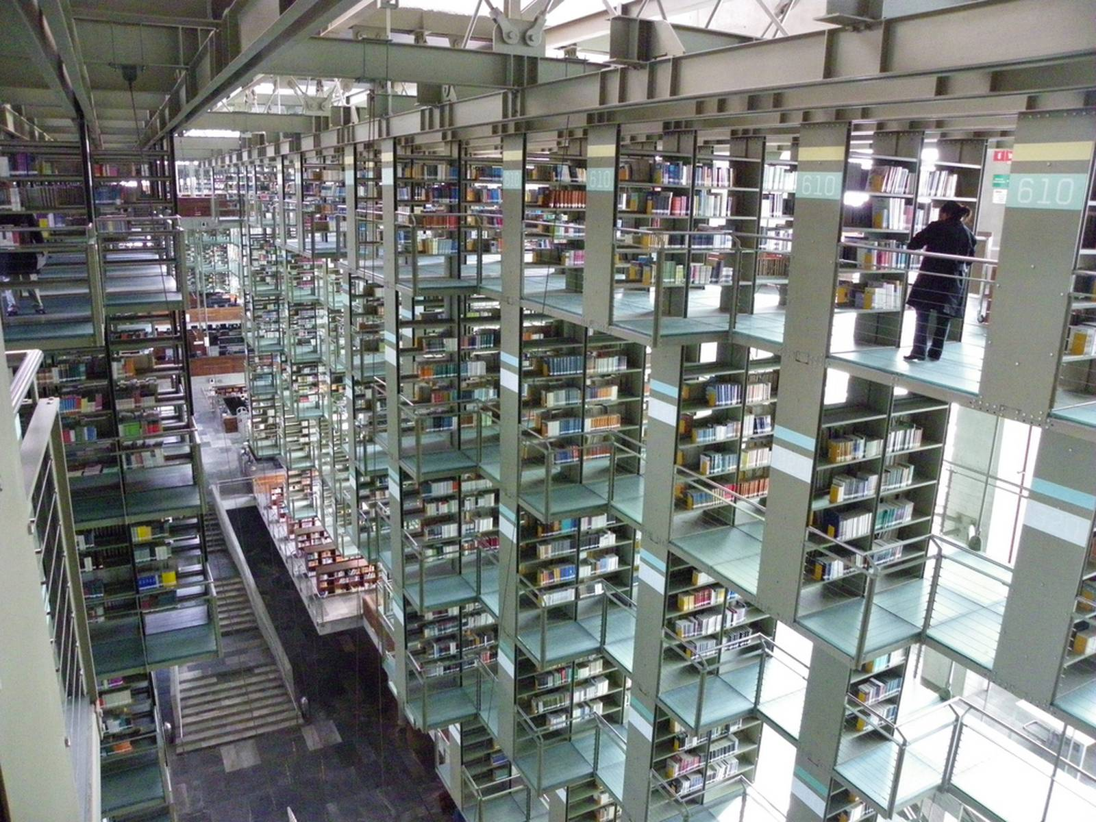 biblioteca vasconcelos1 Biblioteca Vasconcelos   Public Library in Mexico City