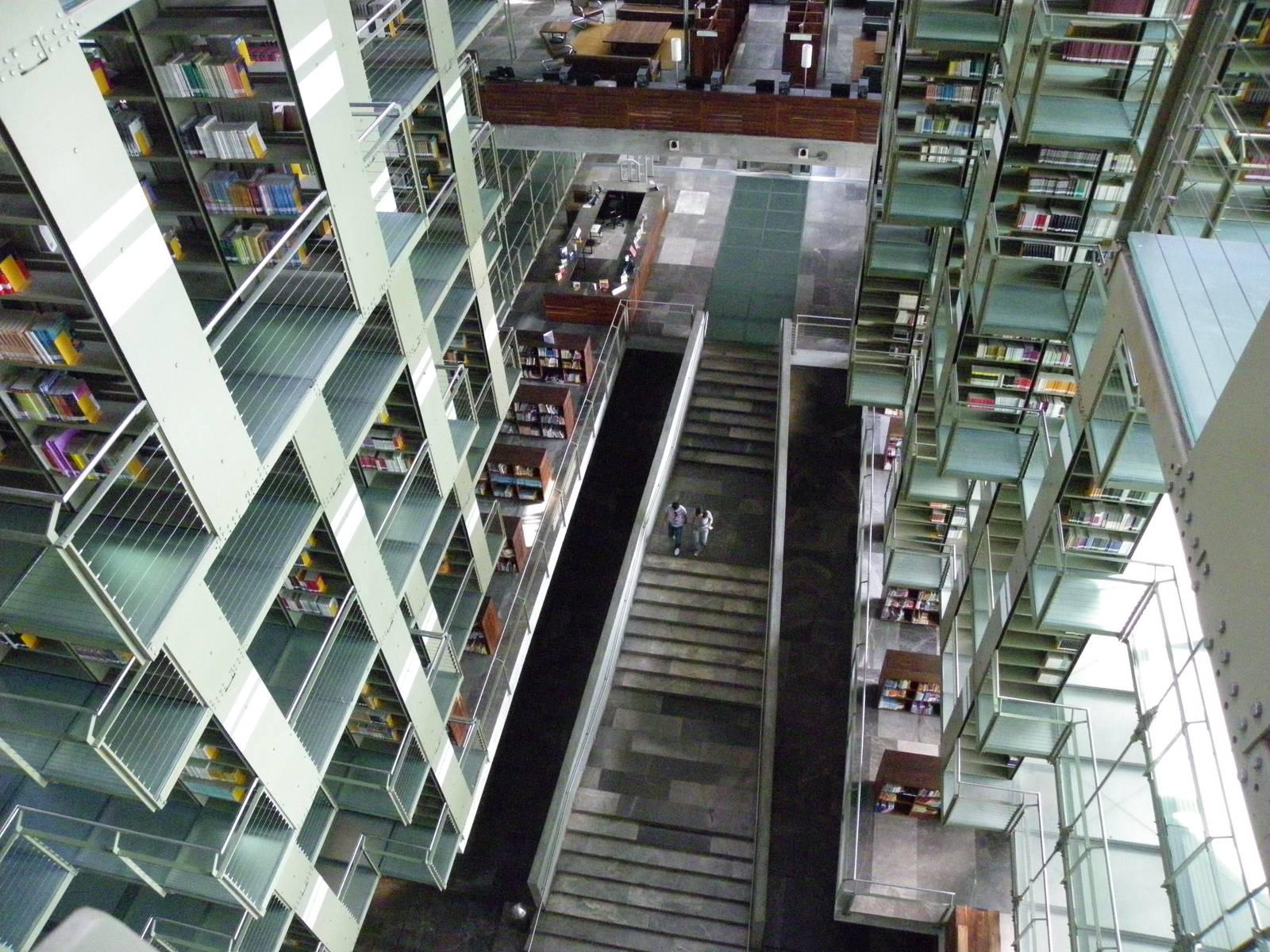 biblioteca vasconcelos2 Biblioteca Vasconcelos   Public Library in Mexico City