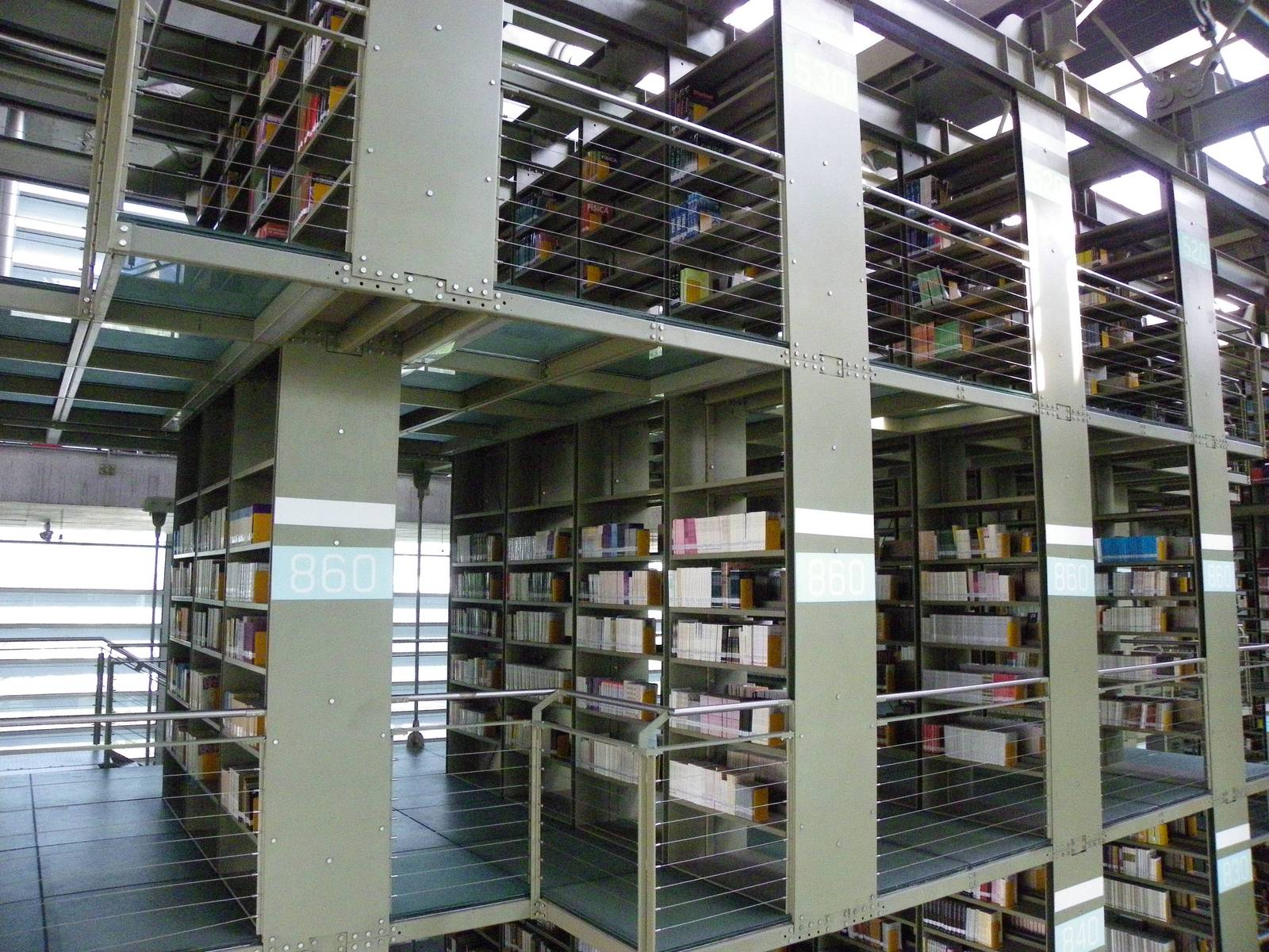 biblioteca vasconcelos3 Biblioteca Vasconcelos   Public Library in Mexico City