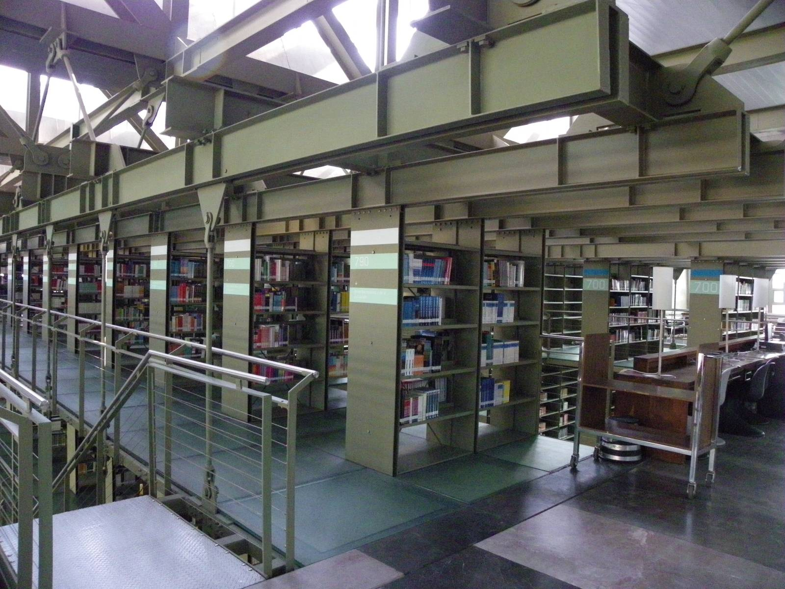 biblioteca vasconcelos4 Biblioteca Vasconcelos   Public Library in Mexico City
