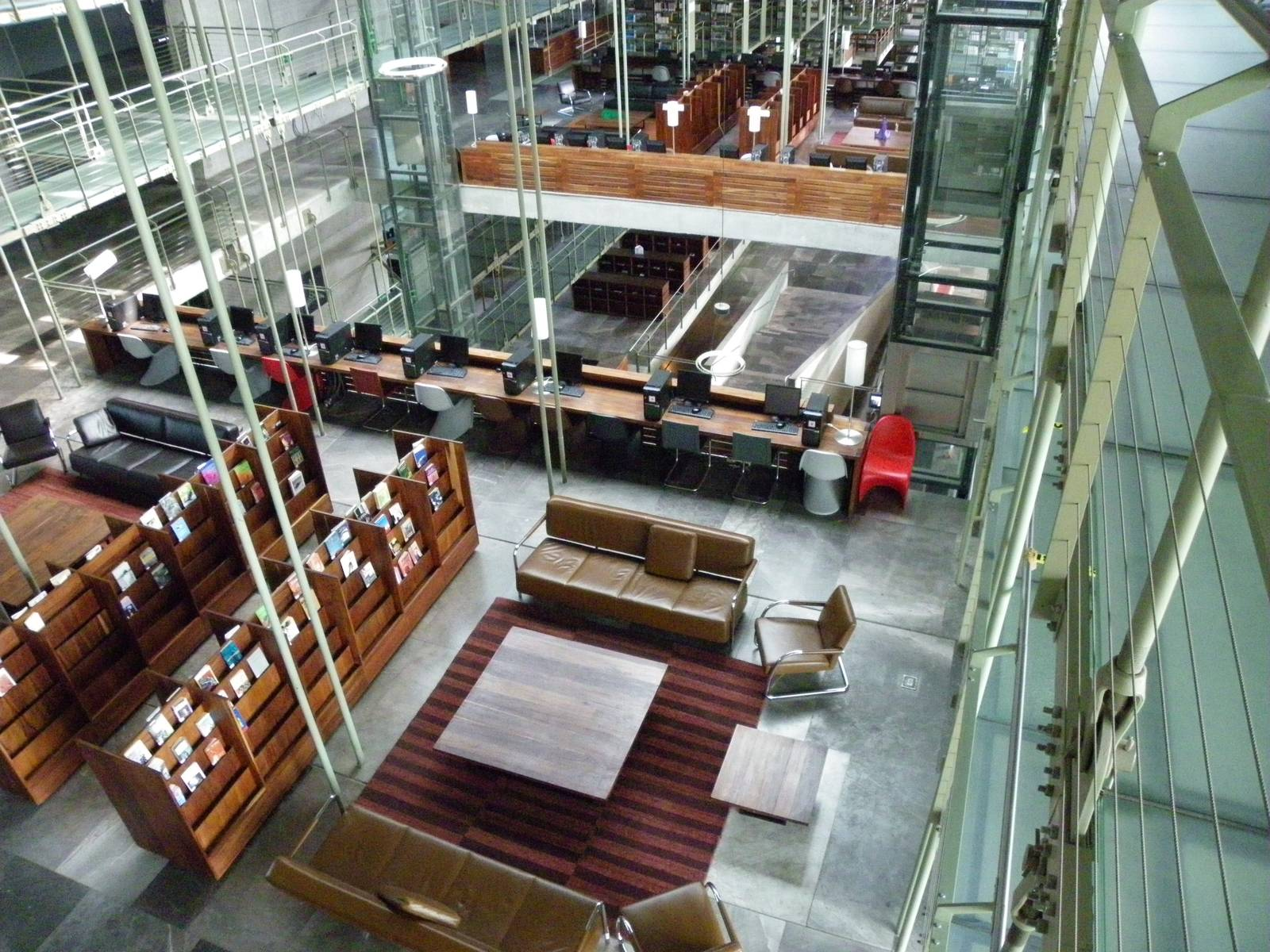 biblioteca vasconcelos5 Biblioteca Vasconcelos   Public Library in Mexico City