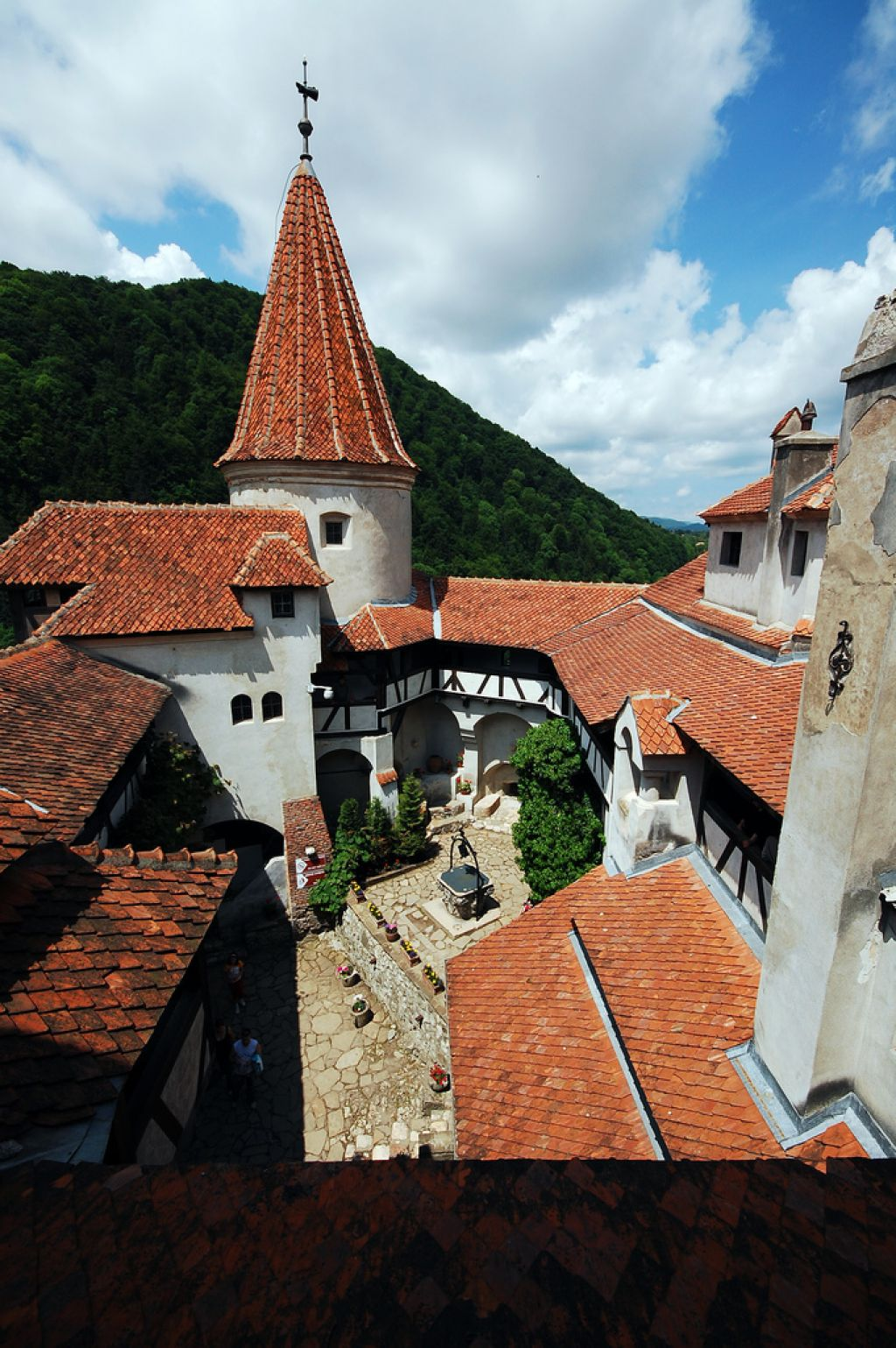 bran castle3 Bran Castle aka Draculas Castle