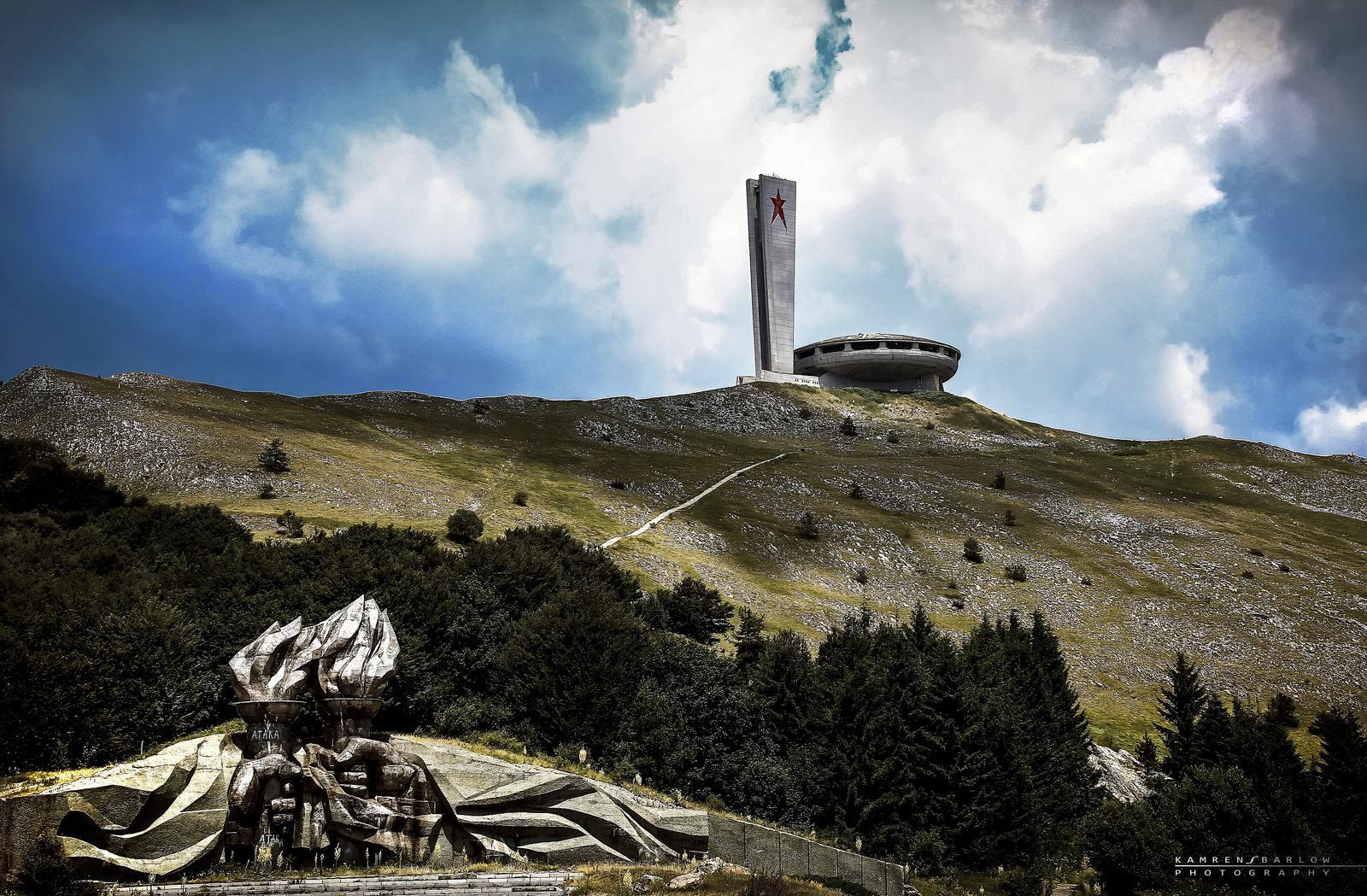 buzludzha10 Buzludzha   Forgotten Communist Monument