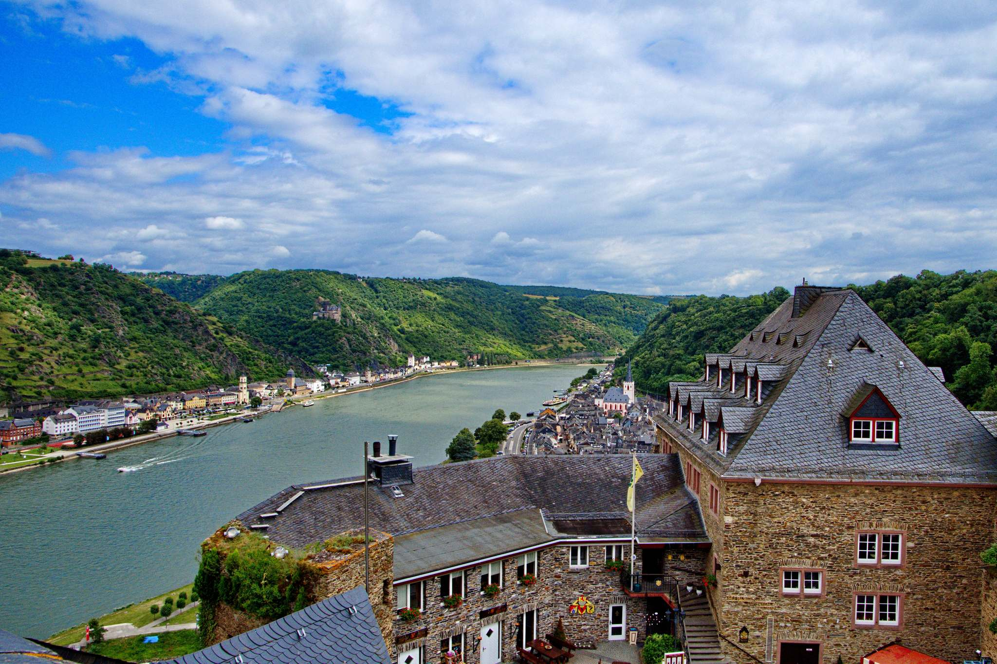 sankt goar2 Castle Rheinfels in Sankt Goar, Germany