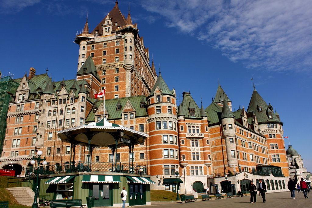 frontenac2 Chateau Frontenac   National Historic Site of Canada