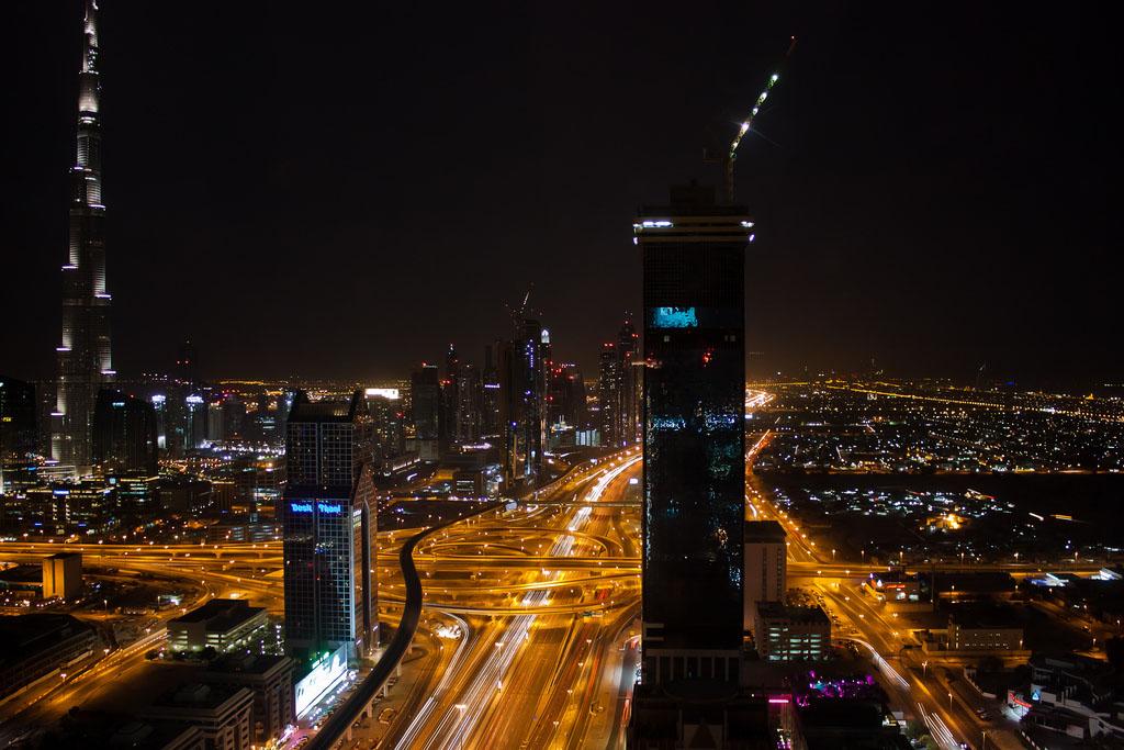 dubai night Dubai City at Night