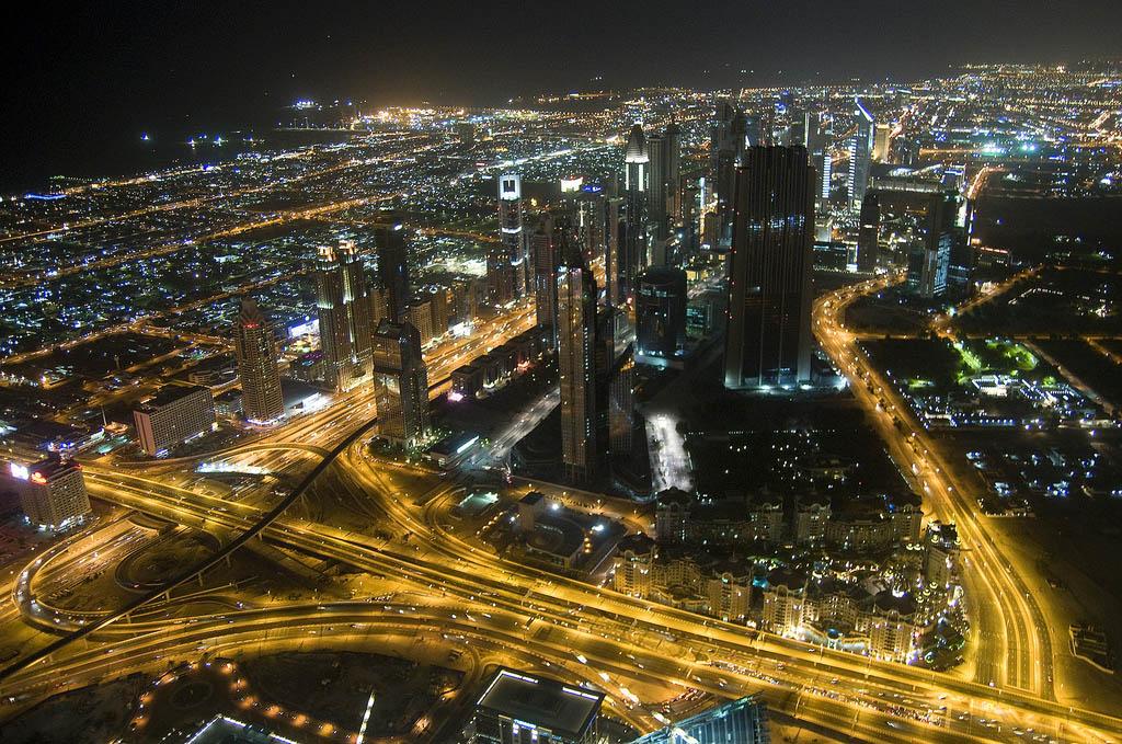 dubai night1 Dubai City at Night