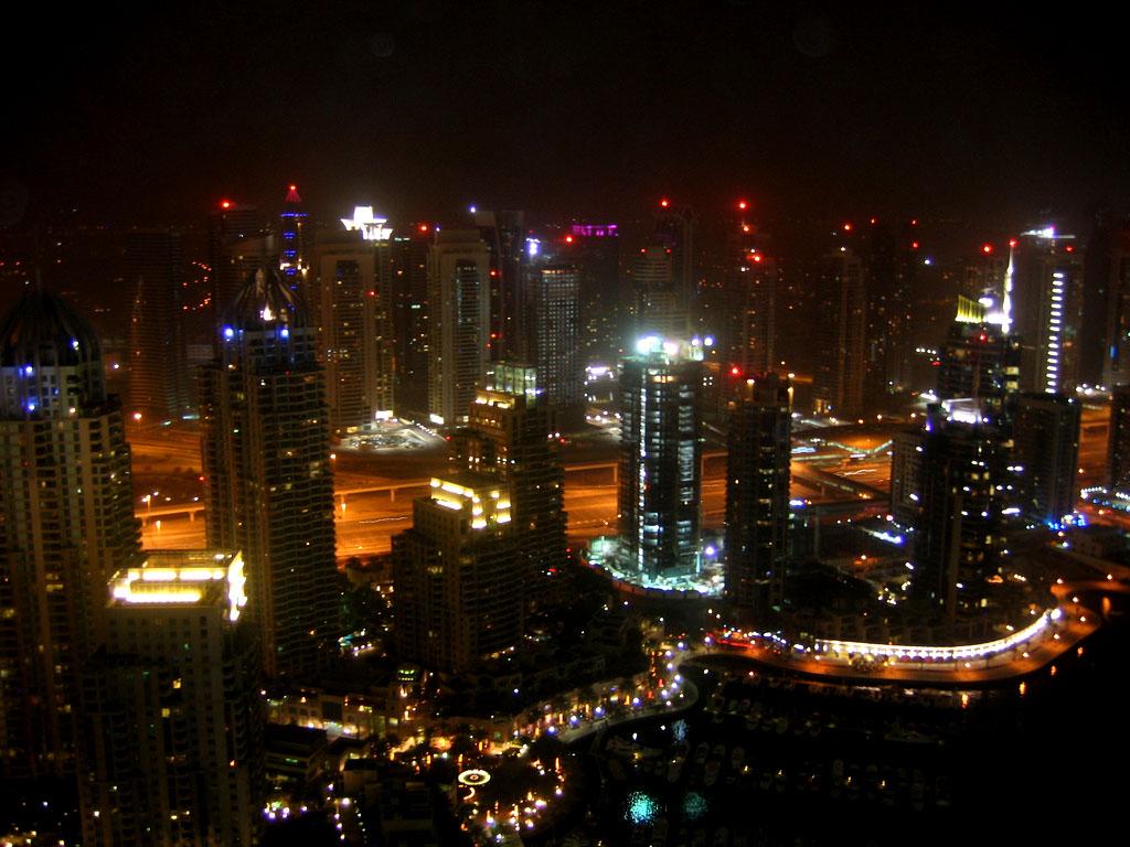 dubai night10 Dubai City at Night