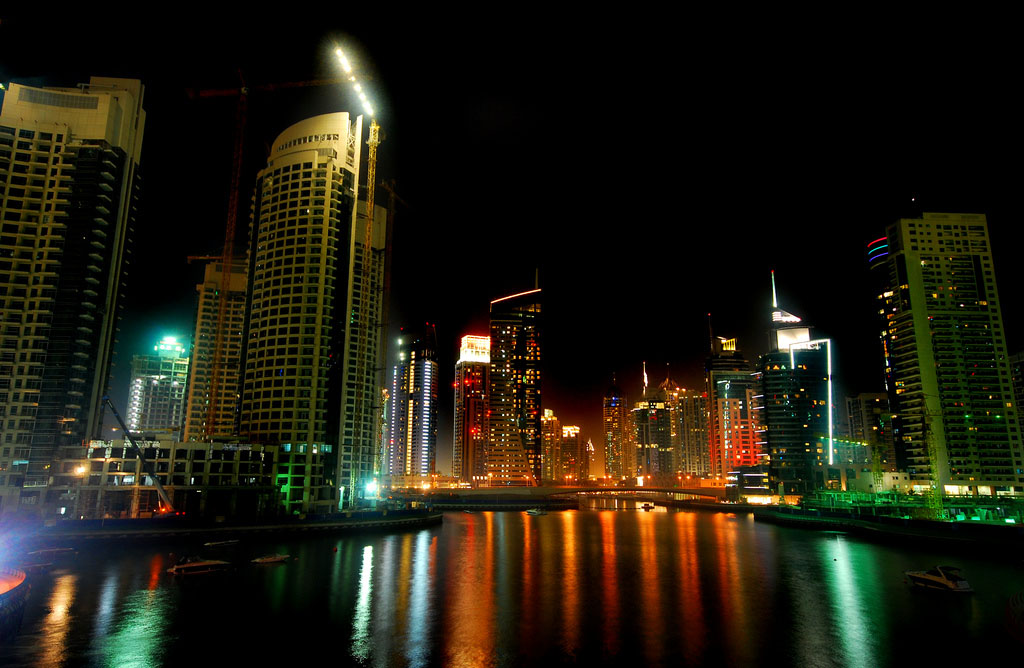 dubai night2 Dubai City at Night