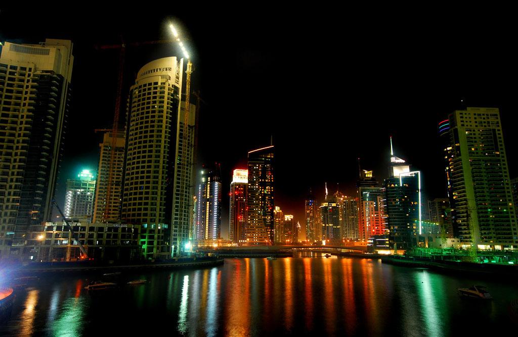 dubai night2 Dubai City at Night