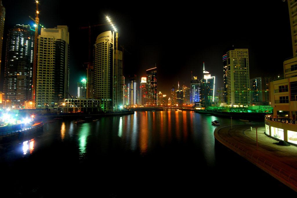 dubai night3 Dubai City at Night