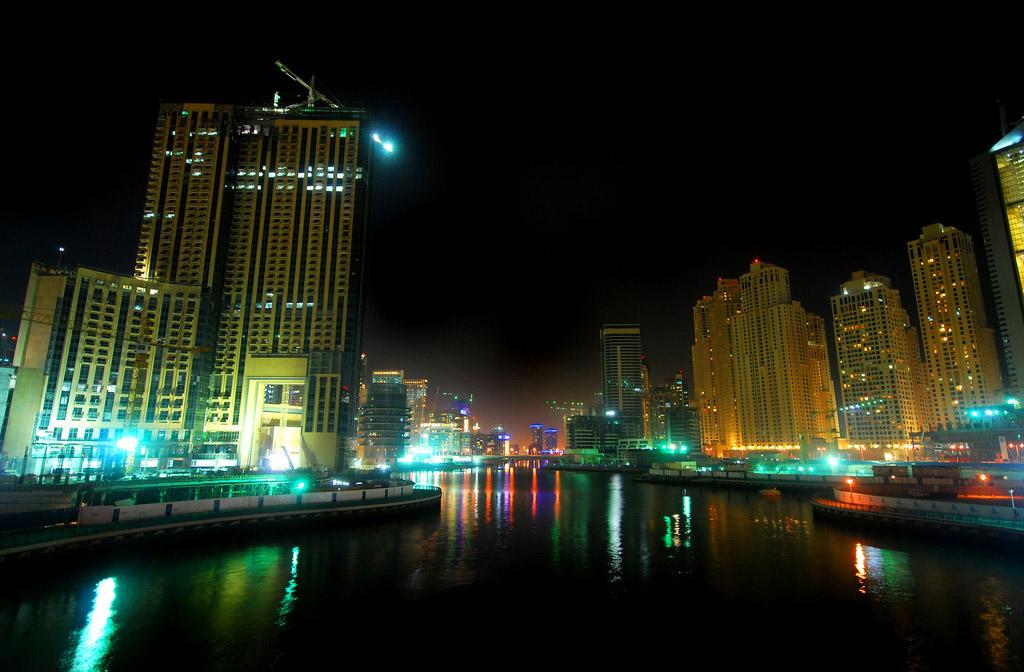 dubai night5 Dubai City at Night