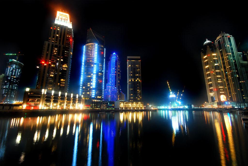 dubai night6 Dubai City at Night