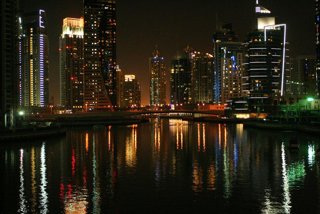 dubai night8 Dubai City at Night