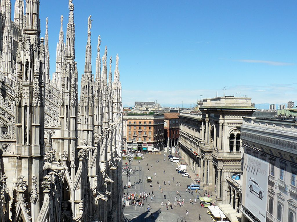 duomo milano4 Duomo di Milano   The Most Important Gothic Cathedral in Italy