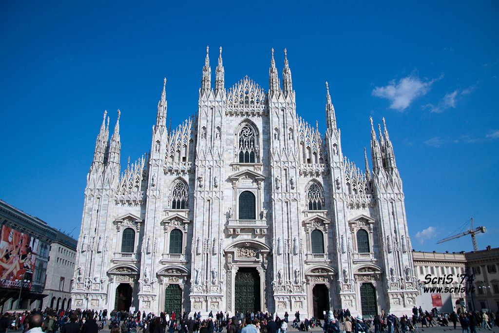 duomo milano5 Duomo di Milano   The Most Important Gothic Cathedral in Italy