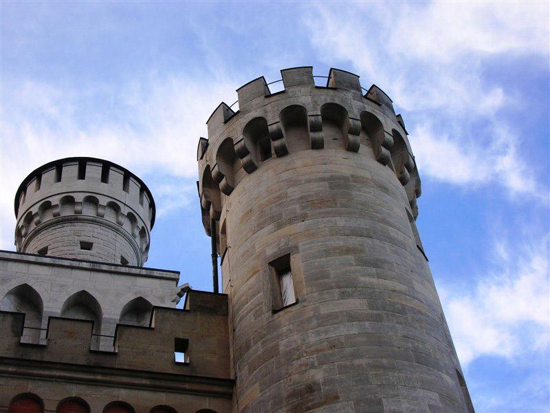 neuschwanstein castle11 Fairy Tale Castle Neuschwanstein in Bavaria