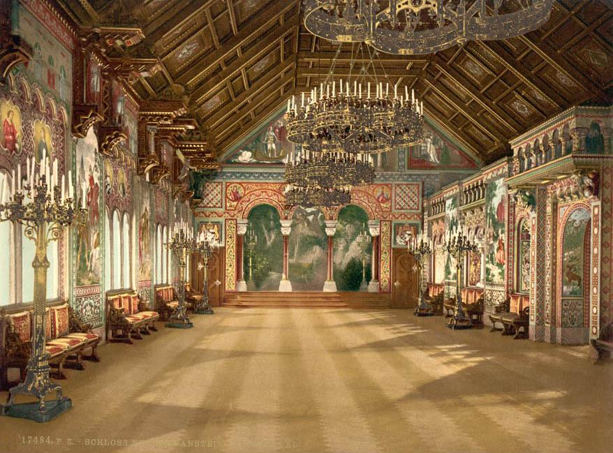neuschwanstein castle13 Fairy Tale Castle Neuschwanstein in Bavaria