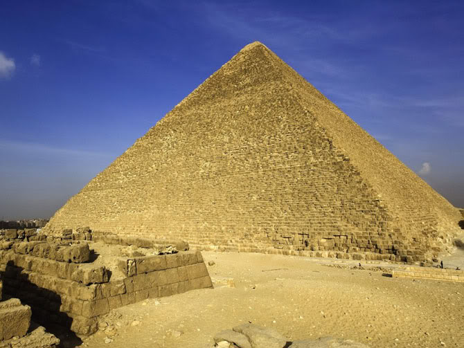 egyptian pyramids6 The Great Pyramids of Giza, Egypt