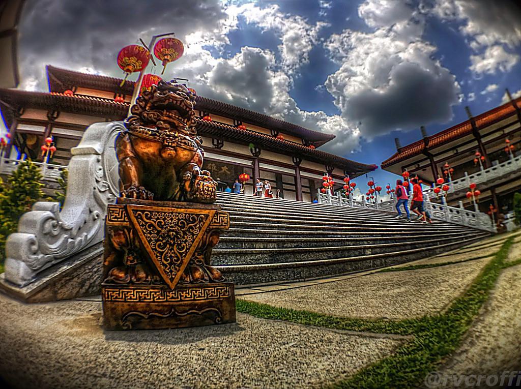 zu lai HDR Zu Lai Temple in Sao Paulo, Brasil by iPhone