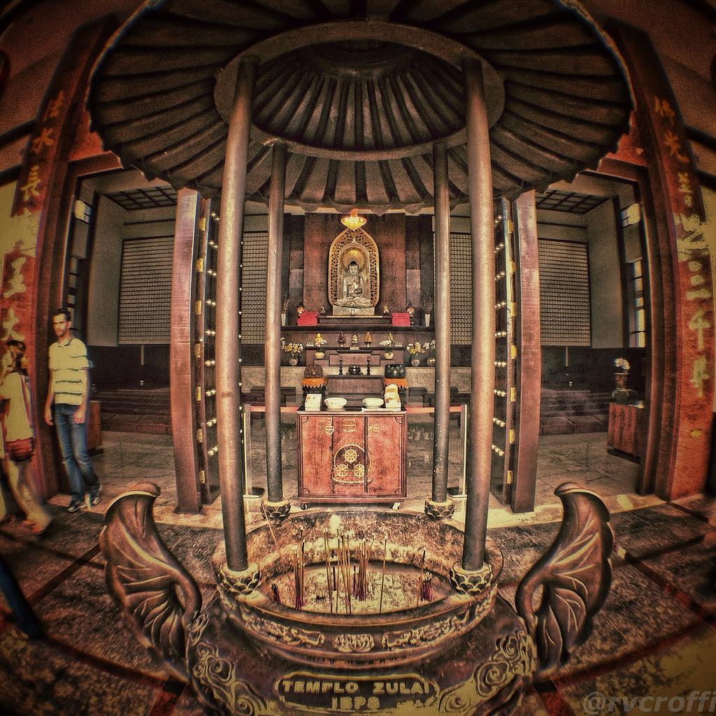 zu lai4 HDR Zu Lai Temple in Sao Paulo, Brasil by iPhone