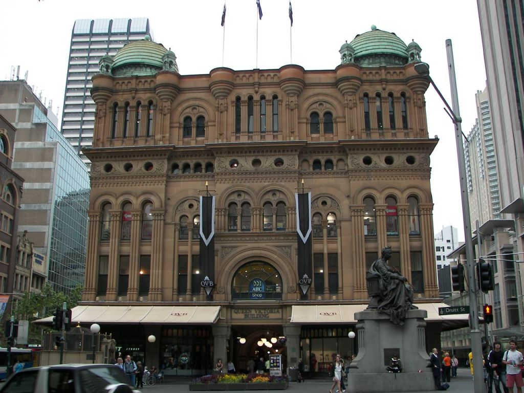 qvb17 Historical Queen Victoria Building, Sydney