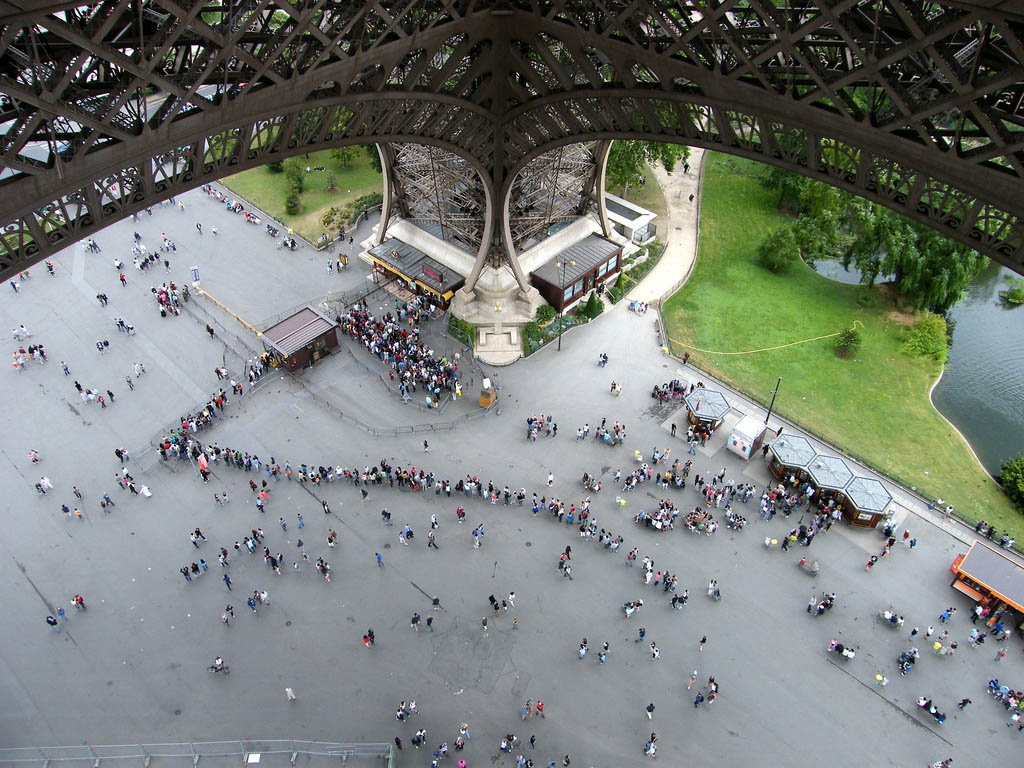 eiffel tower12 How Tall is the Eiffel Tower, Paris