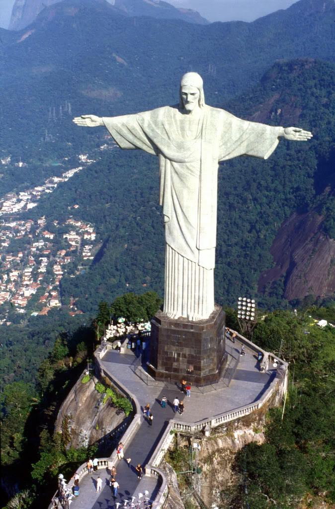 christ the redeemer Icon of Brazil Rio de Janeiro