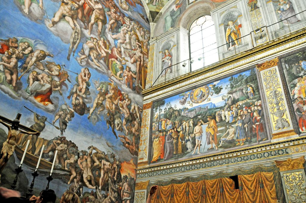 sistine chapel2 Inside the Sistine Chapel